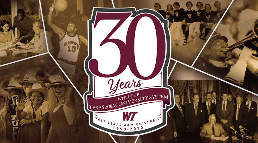 30 Years with The Texas A&M University System