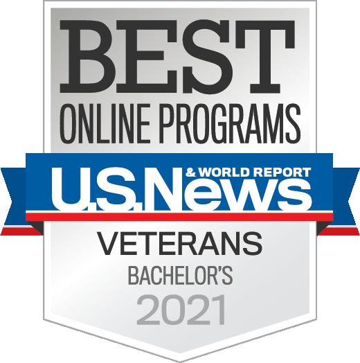 US News Badge Undergraduate Online