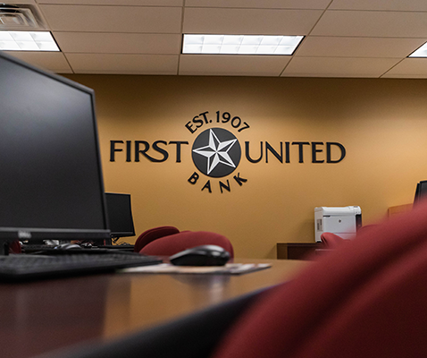 First United Bank Classroom