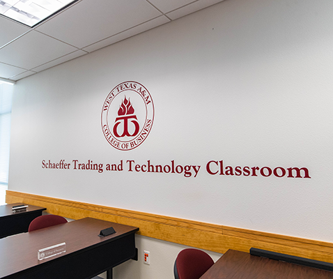 Schaeffer Trading and Technology Classroom