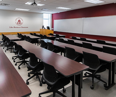 Liles Business Classroom