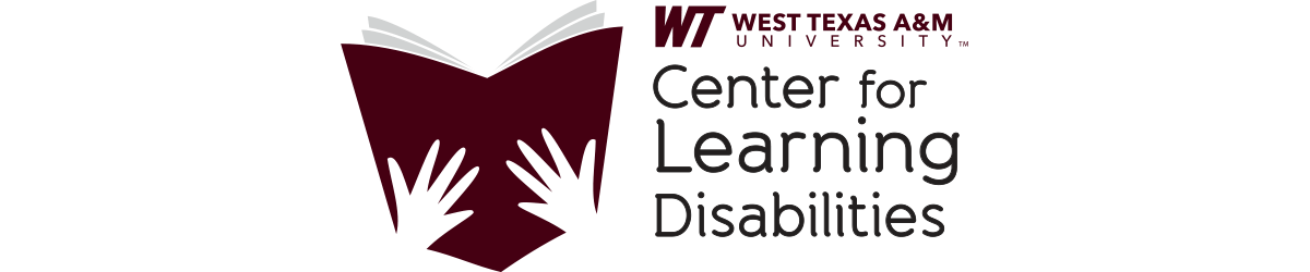 WTAMU Center for Learning Disabilities Logo