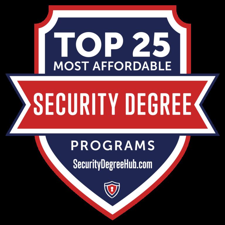 Criminal Justice Best Colleges Badge