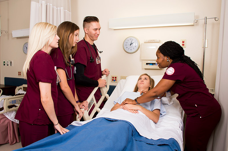 WTAMU Nursing Students