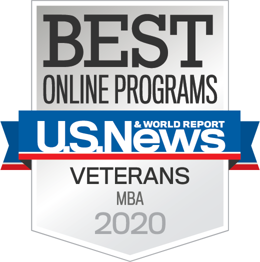 US News Award - Veterans MBA