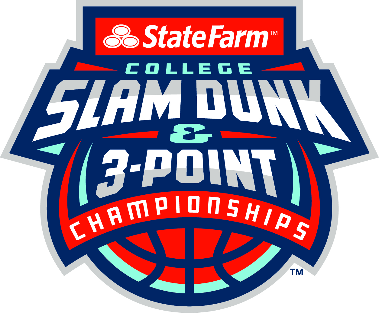 State Fam College Slam Dunk & 3-Point Championships logo