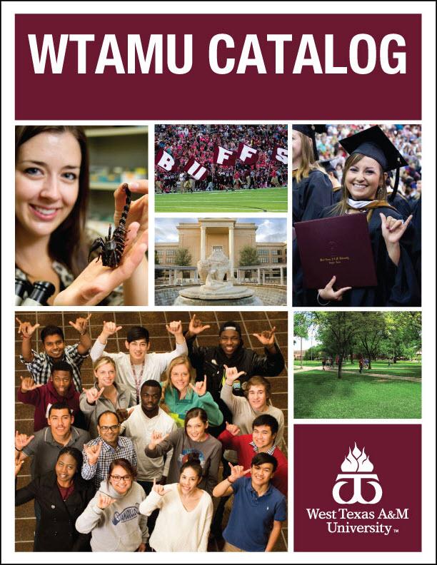 Academic Catalog | WTAMU