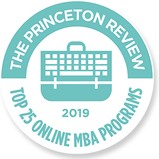 Princeton Review Top 25 Online MBA Programs