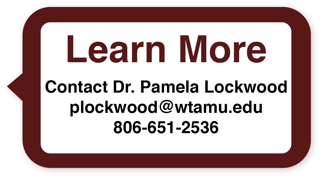 Contact Pamela Lockwood about the Program