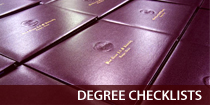 Degree Checklists