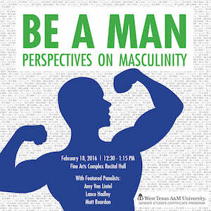 Be a Man Poster