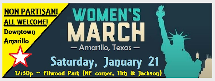 Women's March in Amarillo