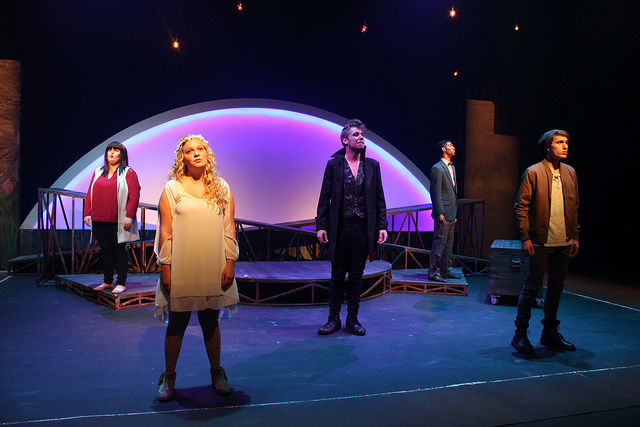 A scene from The Fantasticks