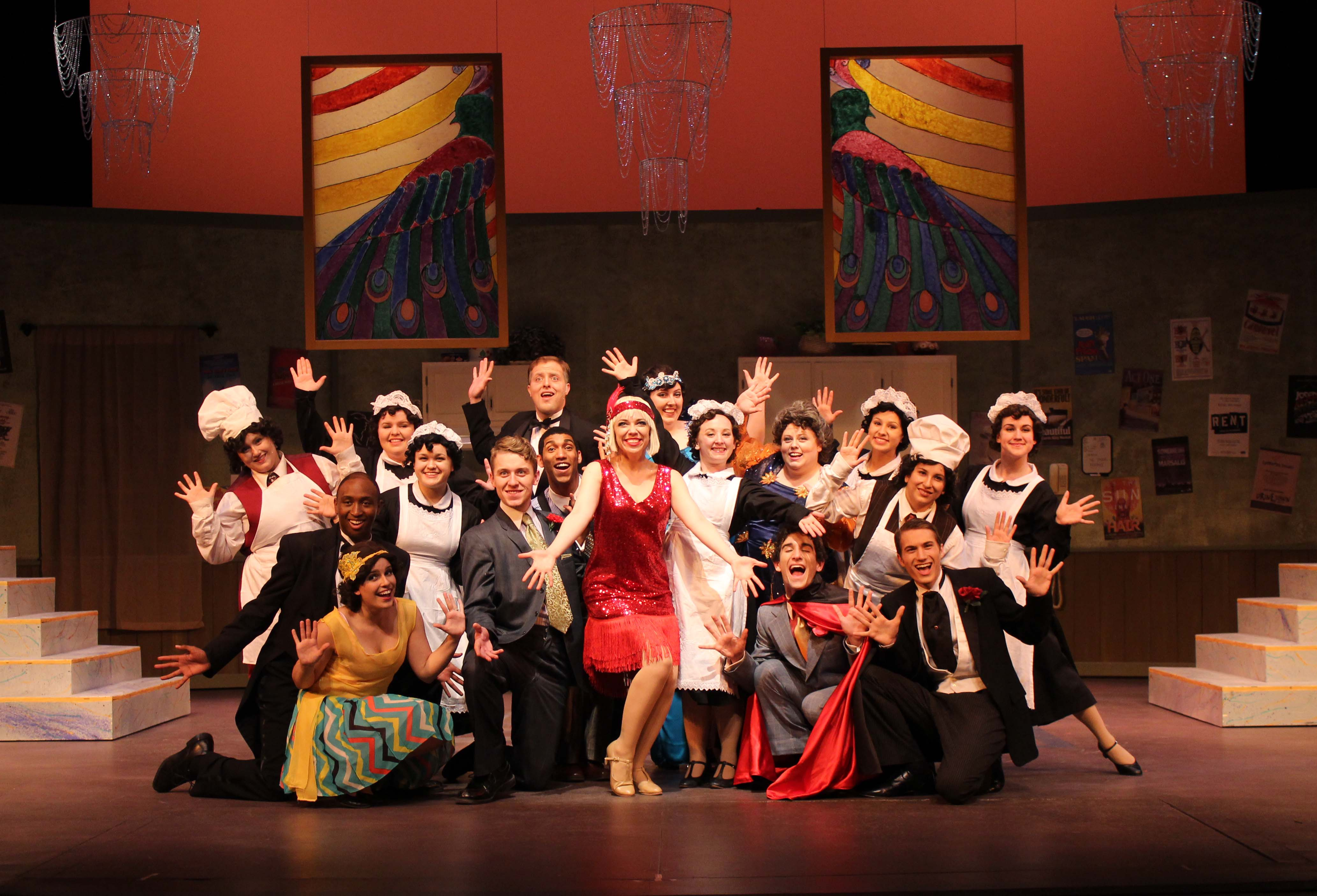A scene from The Drowsy Chaperone