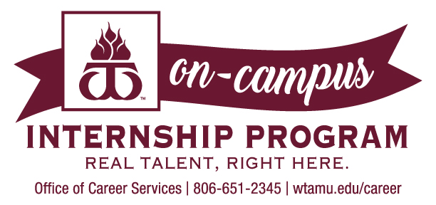 WTAMU On-Campus Internship Program employer logo
