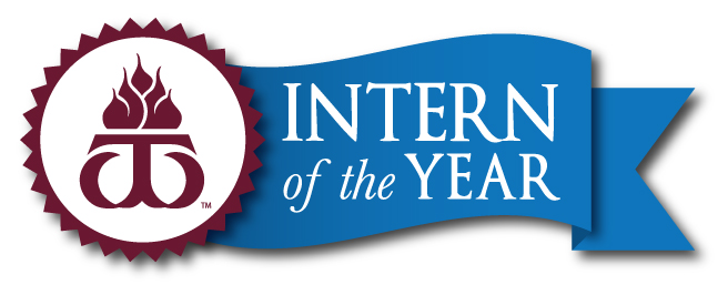 WT Intern of the Year logo