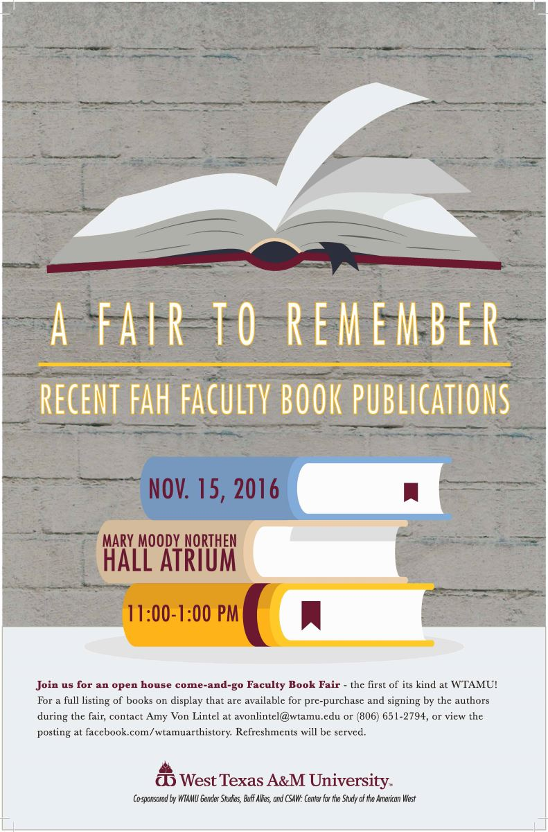 FAH Book Fair Poster