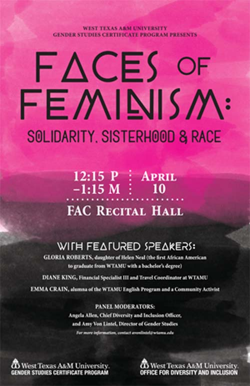 Faces of Feminism poster