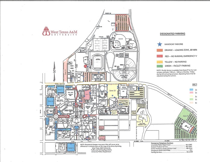 Campus Map Texas Am.West Texas A M Campus Map Business Ideas 2013