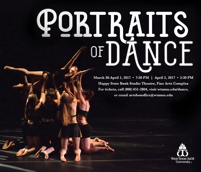 Portraits of Dance 7.30pm happy state bank studio center