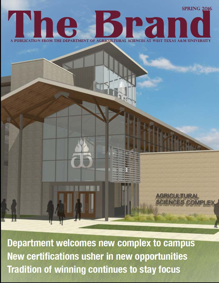 Cover shot of Spring 2013 newsletter