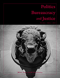 Politics, Bureaucracy and Justice Journal