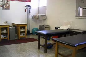 "The ""Box"" Athletic Training Room"