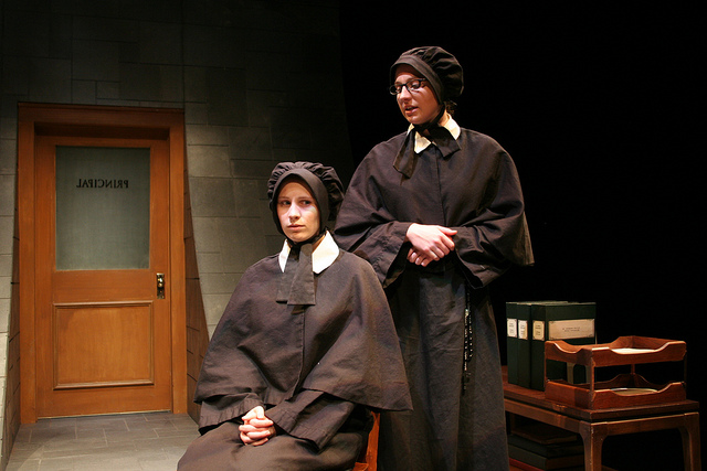 a scene from the bit production Doubt