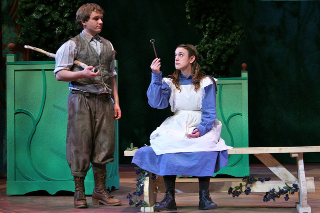 a scene from the bit production The Secret Garden