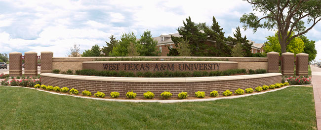West Texas A&M University >> West Texas A M University Sponsored Research Services