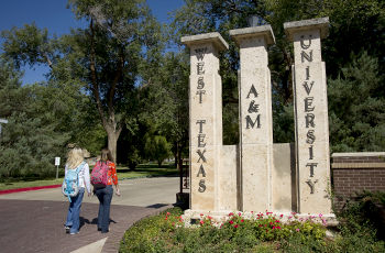 South Entry to campus