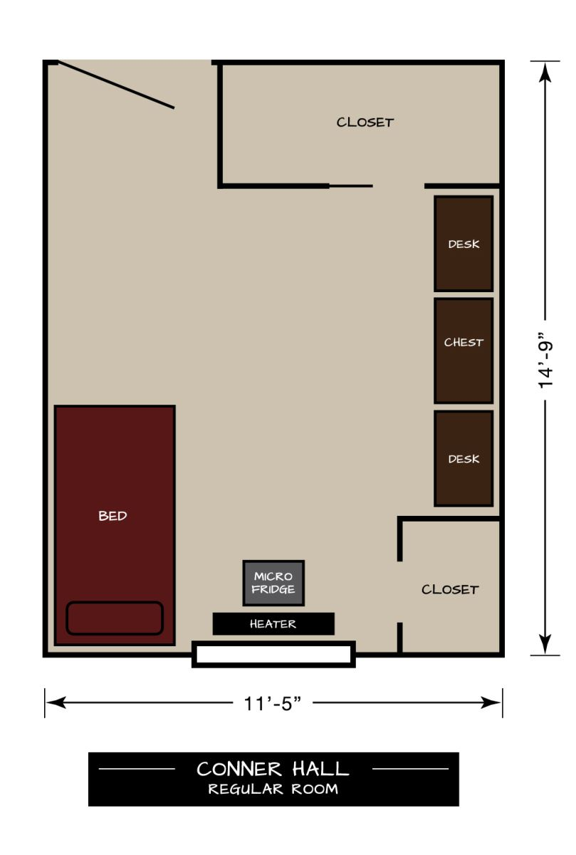 Conner Floor Plan Regular