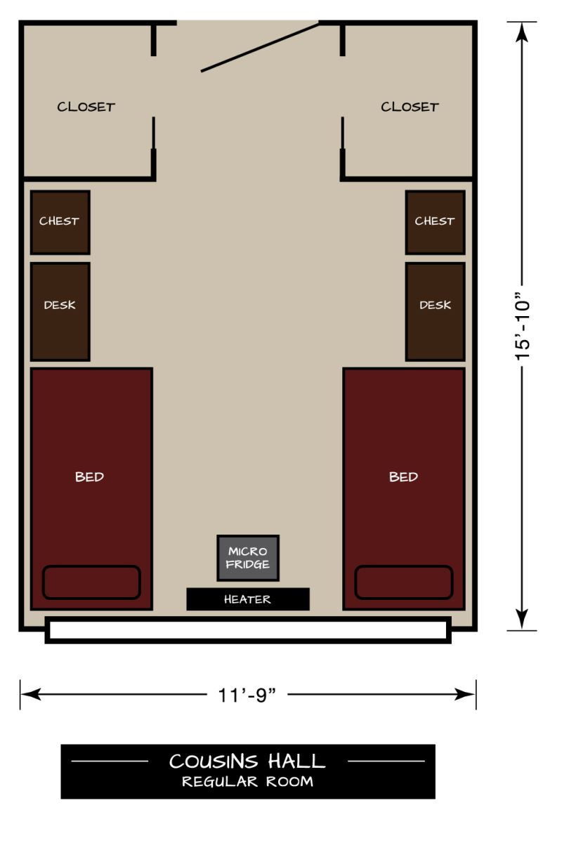 Cousins Floor Plan Regular