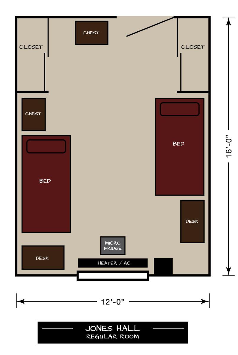 West Texas A M University Residential Living Jones Hall