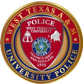 WTAMU University Police Patch Part 96
