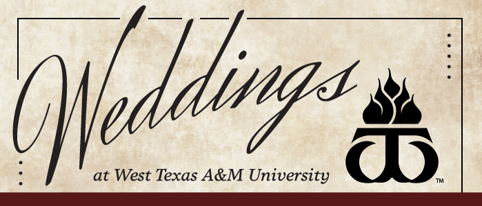 Weddings and Special Events at WTAMU