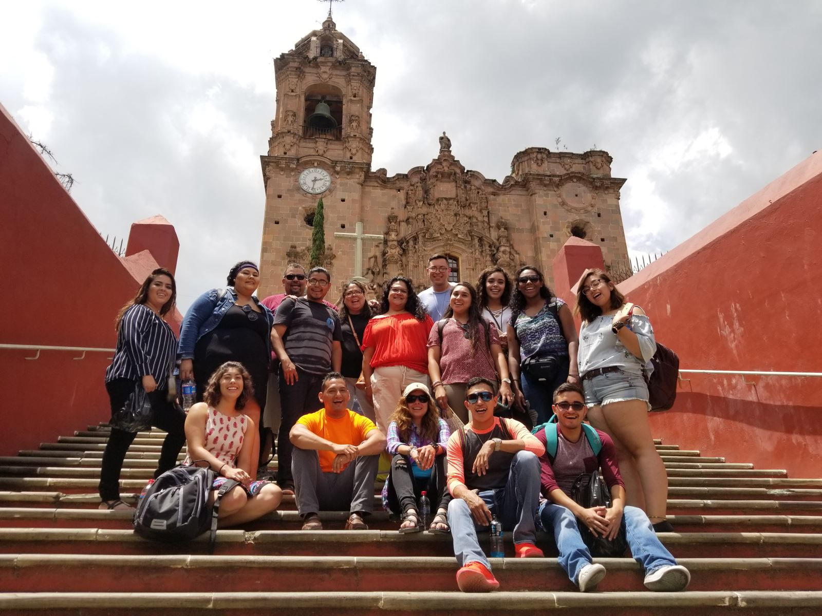Group by San Miguel Cathedral