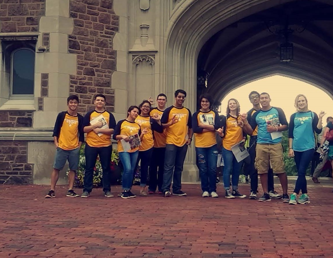 Students visit Washington University in St. Louis