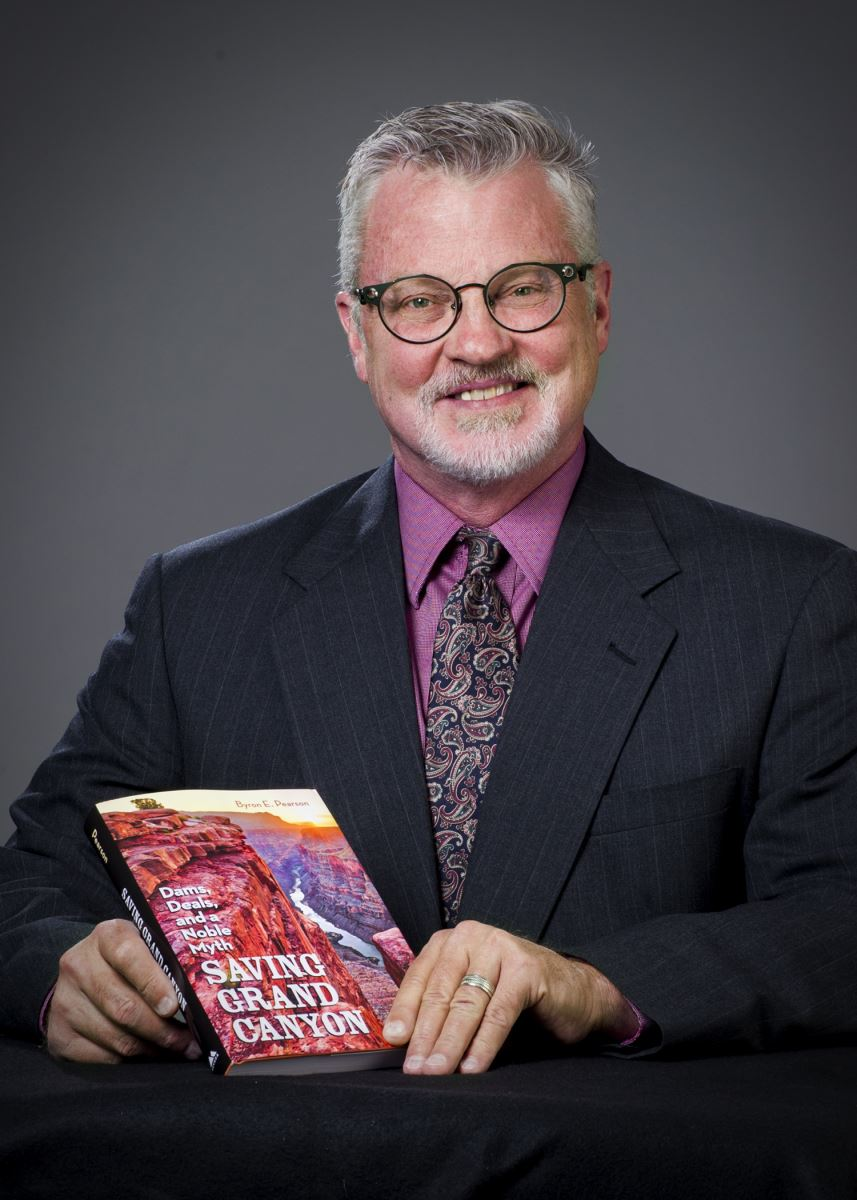 Dr. Byron Pearson publishes book about Grand Canyon.