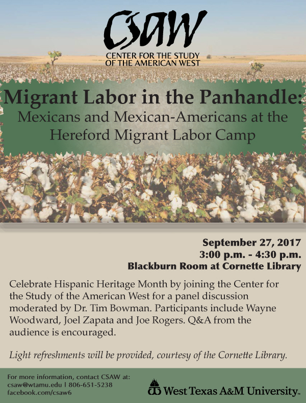 Migrant Labor in the Panhandle
