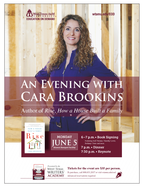 An Evening with Cara Brookins