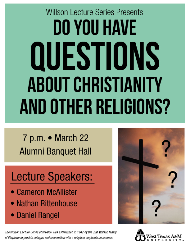 Do You Have Questions About Christianity and Other Religions?