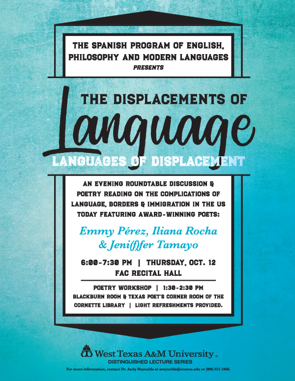 The Displacement of Language