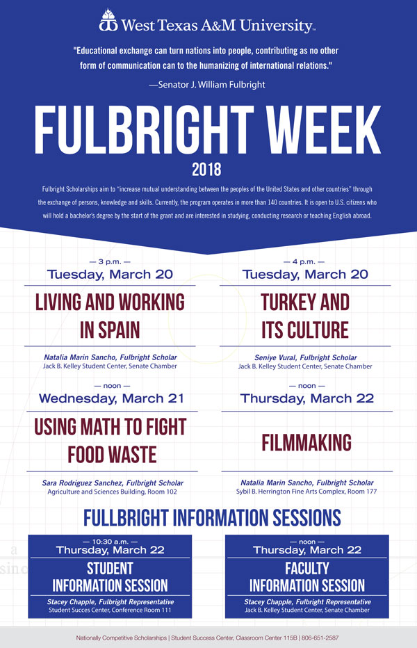 Fulbright Week