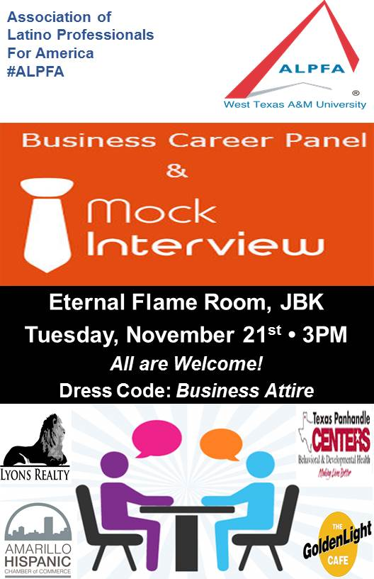ALPFA Presents Business Panel & Mock Interview