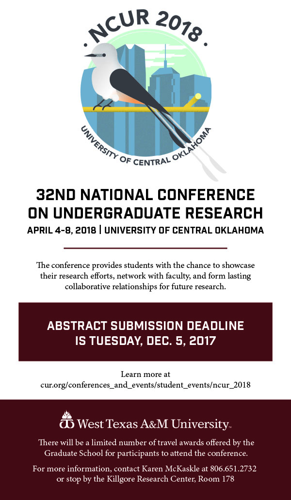 32nd National Conference on Undergraduate Research