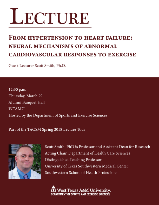 Texas ACSM Spring Lecture