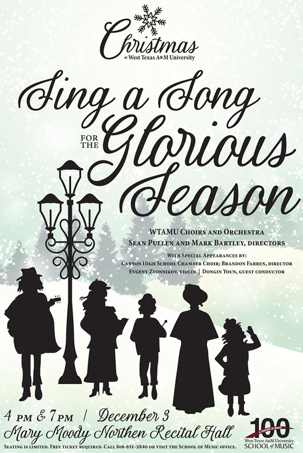 Sing a Song for The Glorious Season