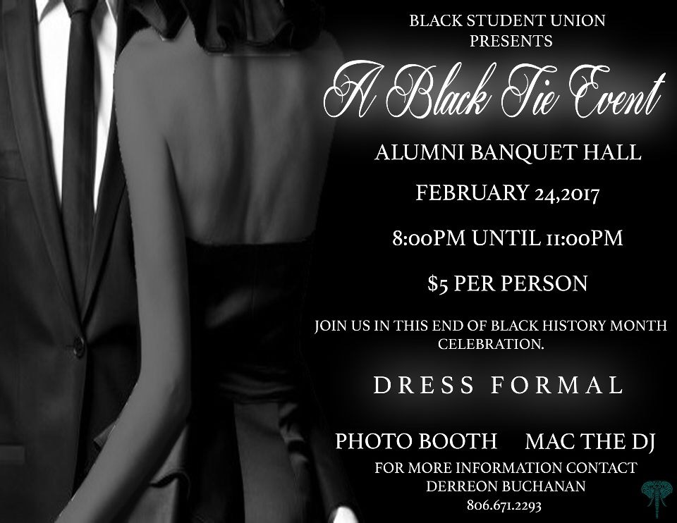 Black Tie Event / Feb. 24