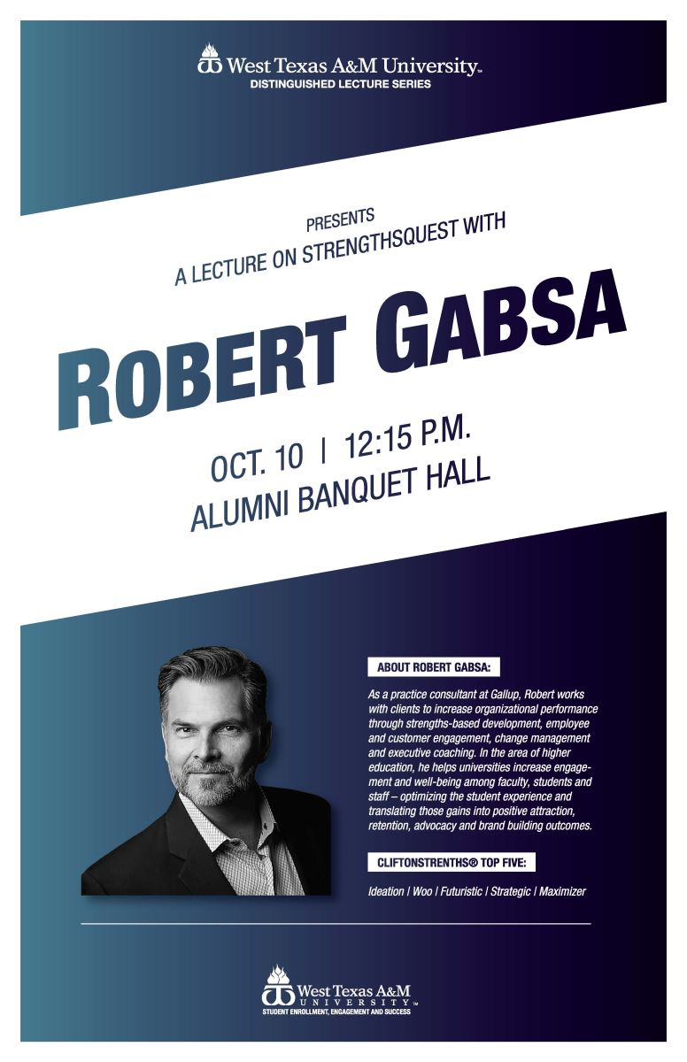 Leadership Week: A Lecture on Strengths, Robert Gabsa